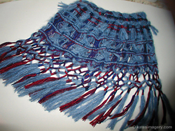 Blueberry Pie Shawl or Skirt
